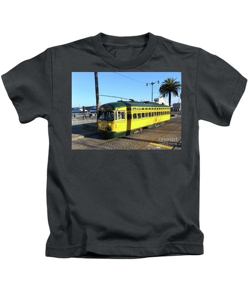 Trolley Number 1071 Kids T-Shirt