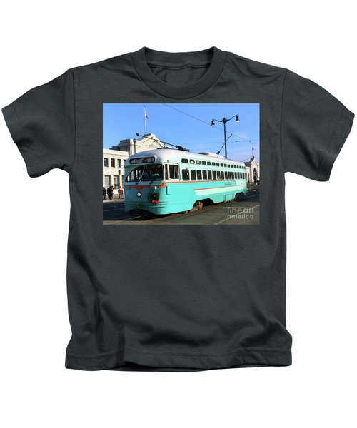 Trolley Number 1076 Kids T-Shirt