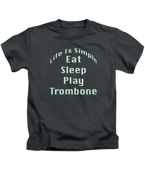 Trombone Eat Sleep Play Trombone 5518.02 Kids T-Shirt