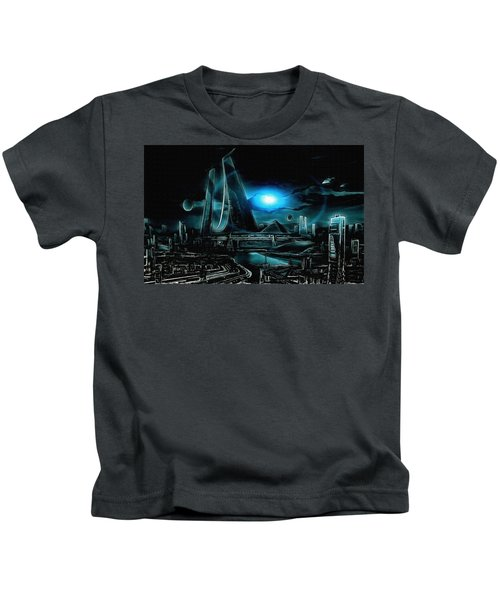 Tron Revisited Kids T-Shirt