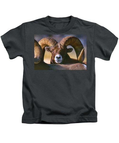 Trophy Bighorn Ram Kids T-Shirt