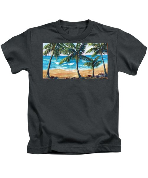 Tropical Palms I Kids T-Shirt