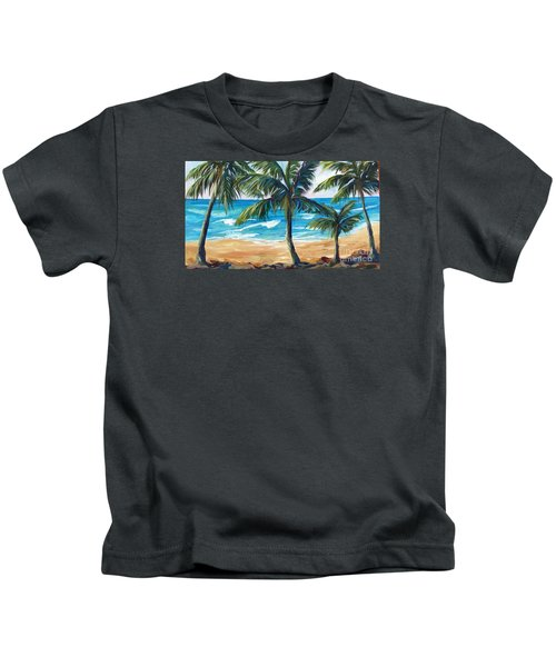 Tropical Palms I Kids T-Shirt