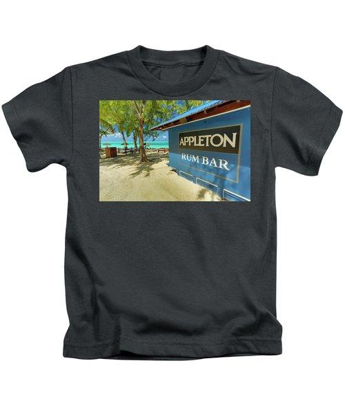 Tropical Rum Bar Kids T-Shirt