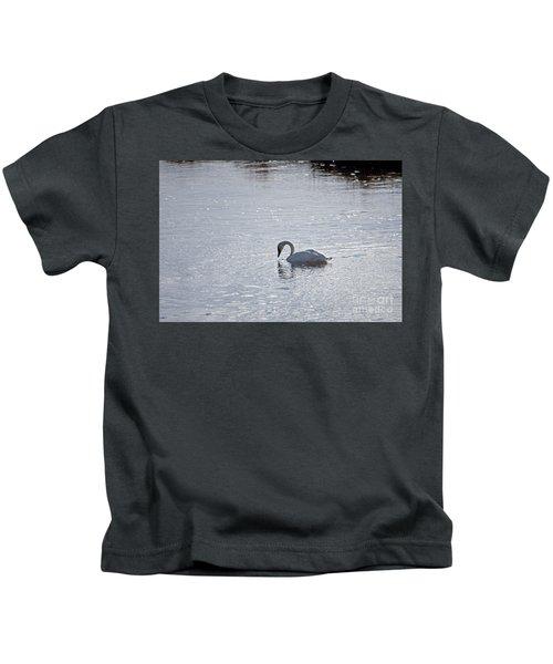Trumpeter Swan Yellowstone Kids T-Shirt