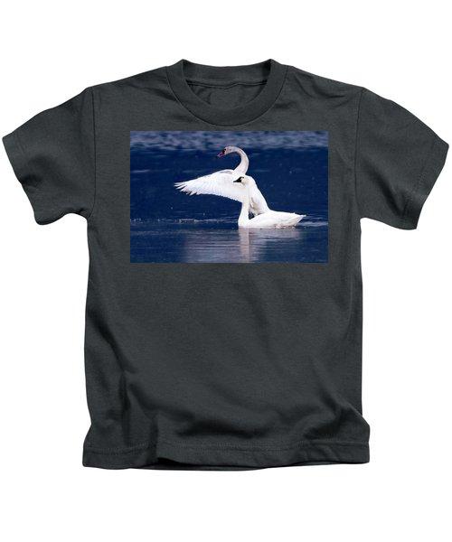 Trumpeter Swans Kids T-Shirt