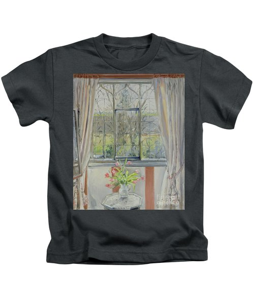 Tulips For A January Morning Kids T-Shirt