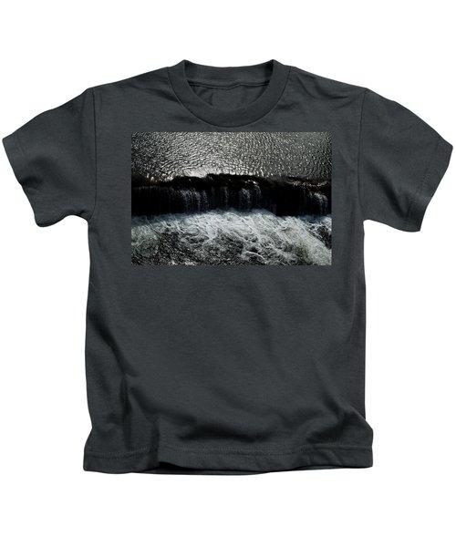 Turbulent Water Kids T-Shirt