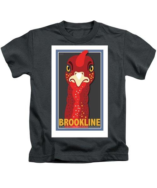 Turkey Stare Kids T-Shirt