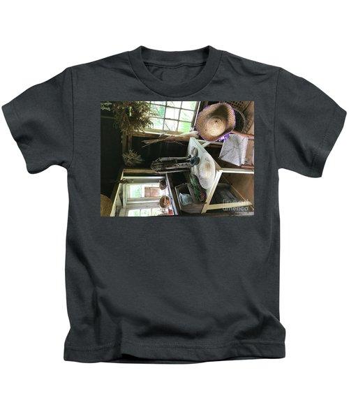 Turned Around Kids T-Shirt