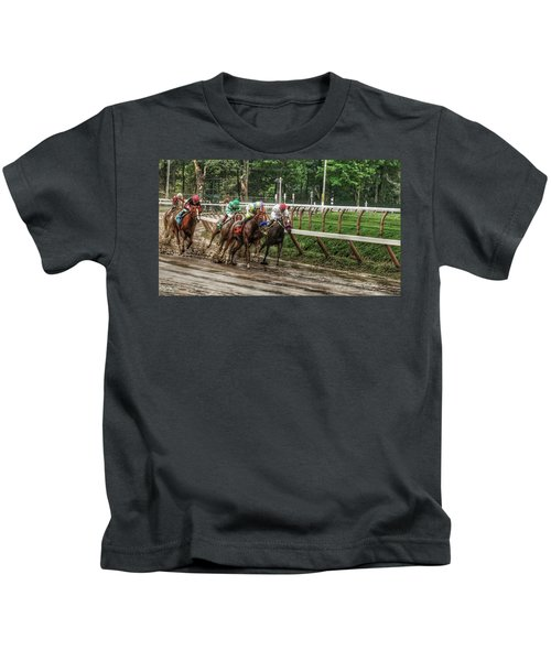 Turning The Mud Kids T-Shirt