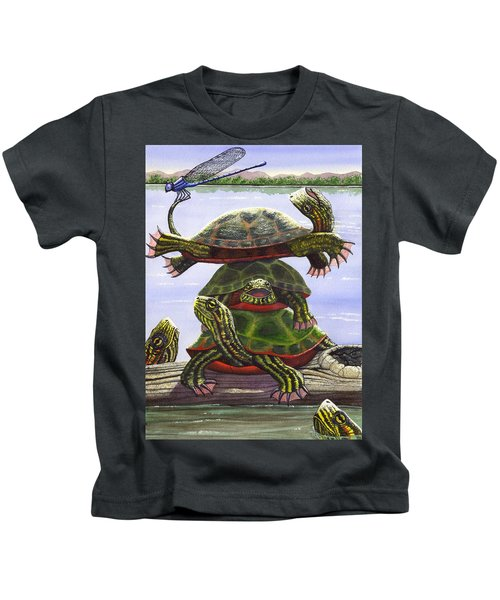 Turtle Circus Kids T-Shirt