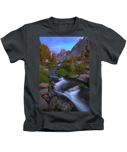 Twilight Cascade Kids T-Shirt