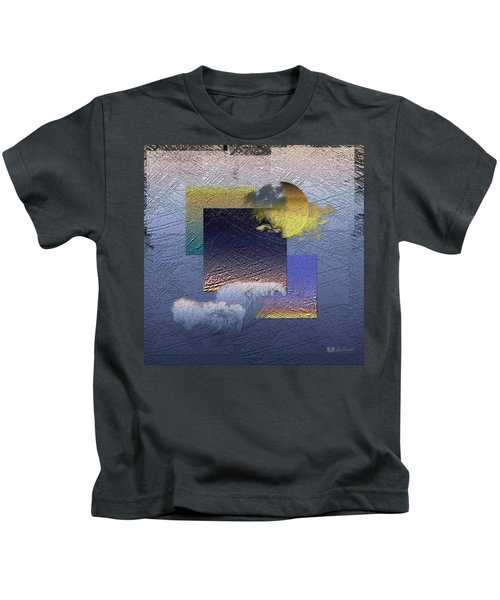 Twilight Interrupted By Ocean Breeze Kids T-Shirt