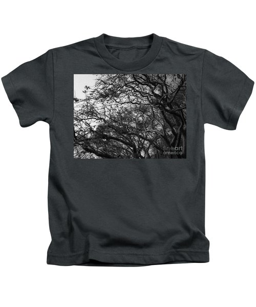 Twirling Branches Kids T-Shirt