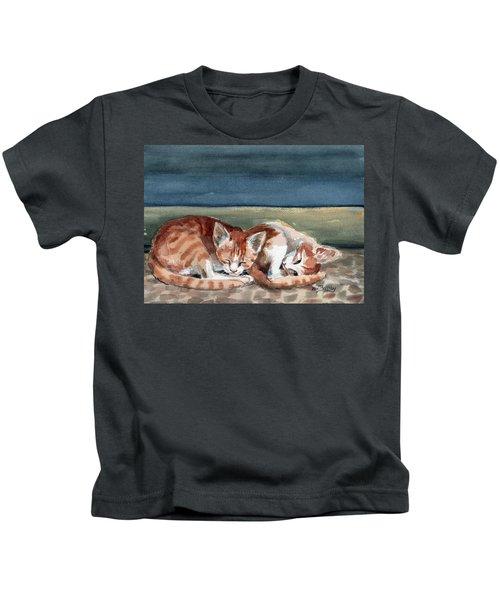 Two Kittens Kids T-Shirt