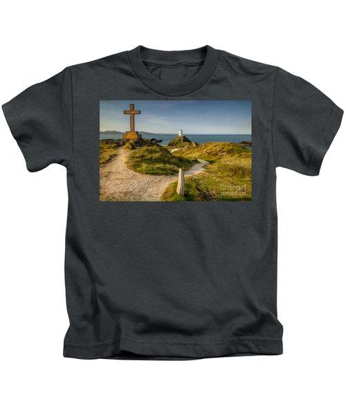 Twr Mawr Lighthouse Kids T-Shirt