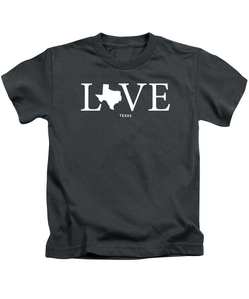 Tx Love Kids T-Shirt by Nancy Ingersoll