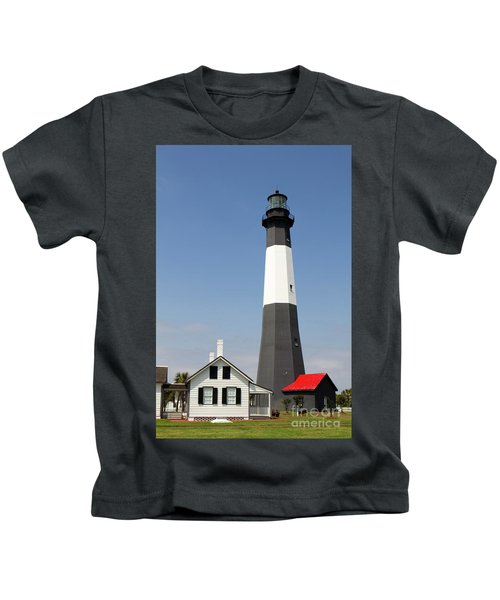 Tybee Lighthouse Georgia Kids T-Shirt