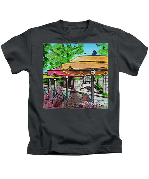 Umbrellas Kids T-Shirt