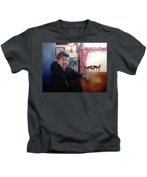 Uncle Harold, Maquoketa, Iowa Kids T-Shirt