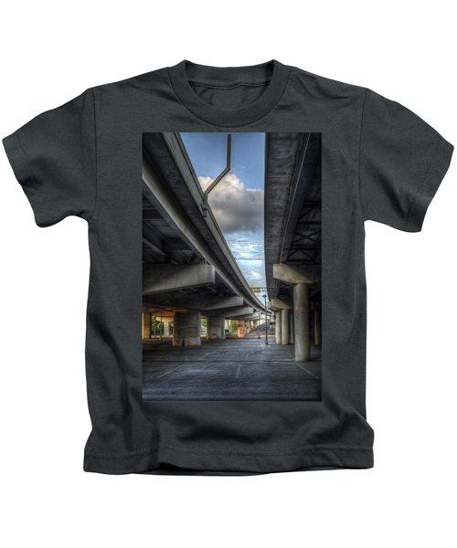 Under The Overpass II Kids T-Shirt