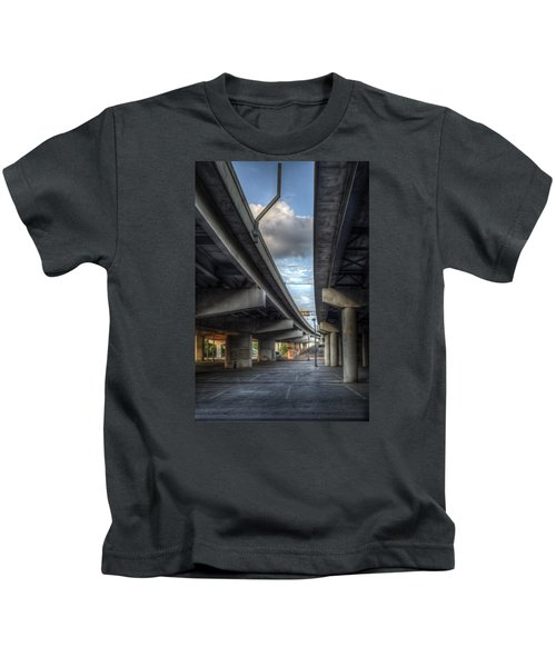 Under The Overpass II Kids T-Shirt