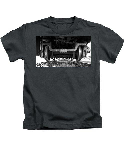 Under The Train Kids T-Shirt
