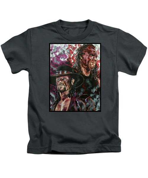 Undertaker And Kane Kids T-Shirt