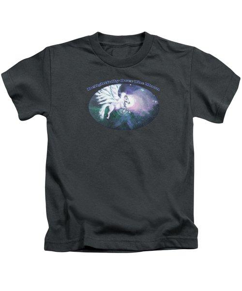 Unicorn And The Universe Kids T-Shirt