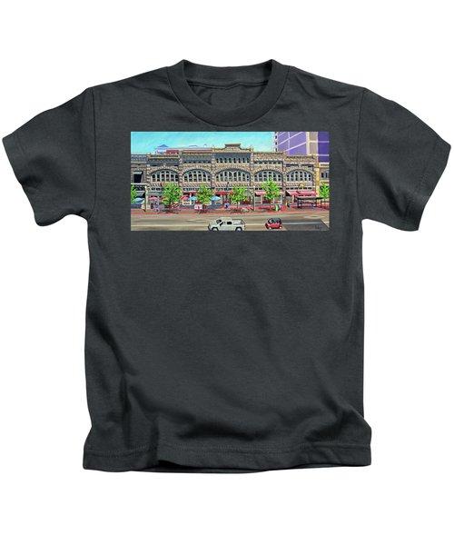 Union Block Building - Boise Kids T-Shirt