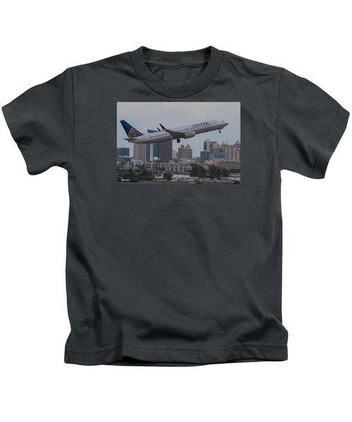 United Airlinea Kids T-Shirt
