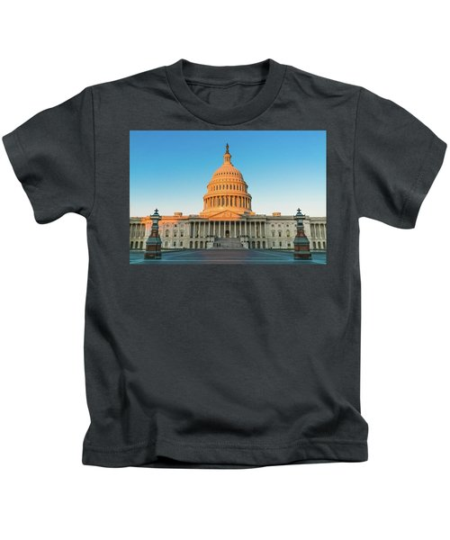 United States Capitol  Kids T-Shirt