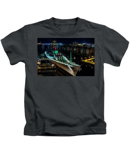 Uss Wisconsin Kids T-Shirt