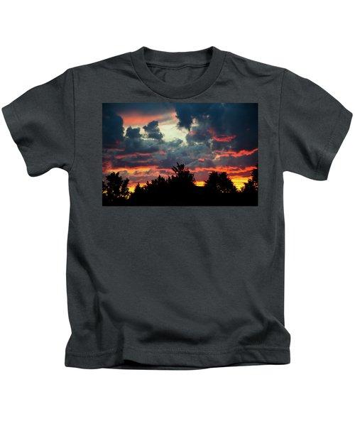 Utah Sunset Kids T-Shirt
