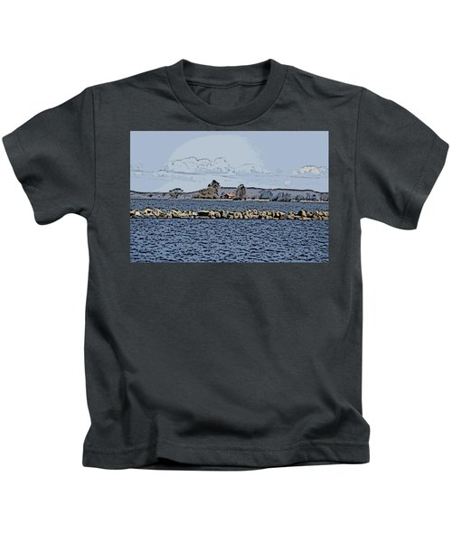 Vaennern Lake Kids T-Shirt