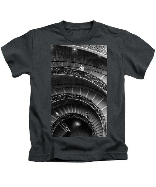 Vatican Stairs Kids T-Shirt
