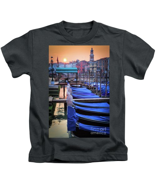 Venice Sunrise Kids T-Shirt