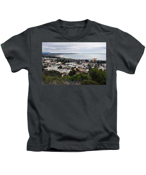 Ventura Coast Skyline Kids T-Shirt