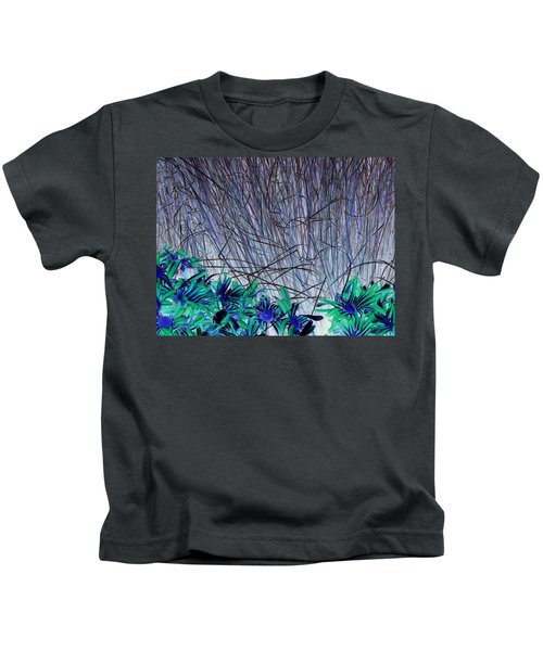 Venus Blue Botanical Kids T-Shirt