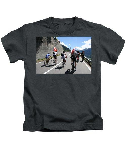 Verbier - Tour De France 2009 Kids T-Shirt