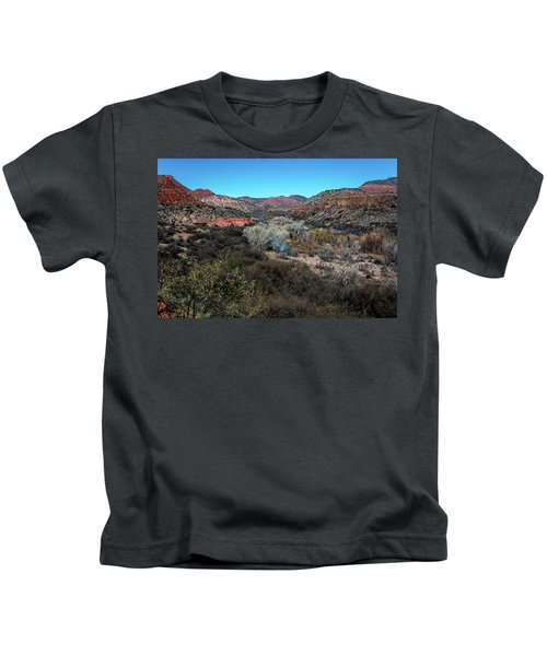 Verde Canyon Oasis Kids T-Shirt