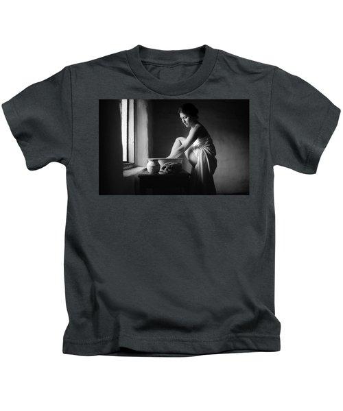 Vermeer Footwasher Kids T-Shirt