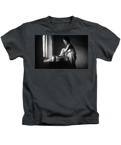 Vermeer Footwasher Kids T-Shirt