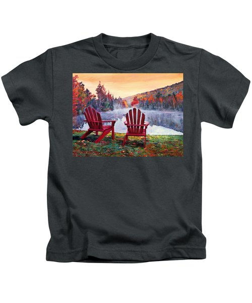 Vermont Romance Kids T-Shirt