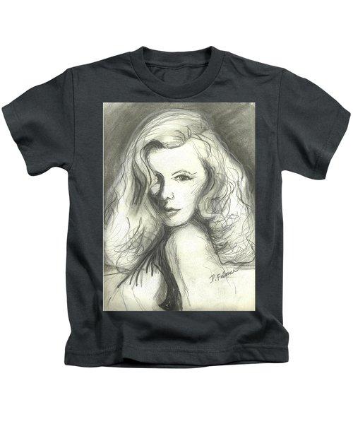 Veronica Lake Kids T-Shirt