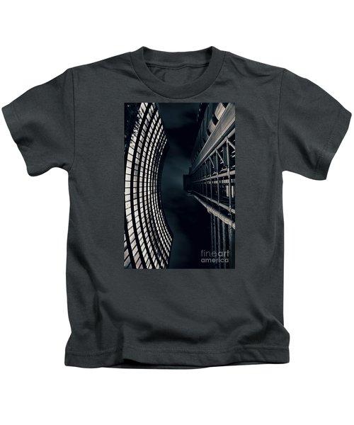 Vertigo I Kids T-Shirt by Jasna Buncic
