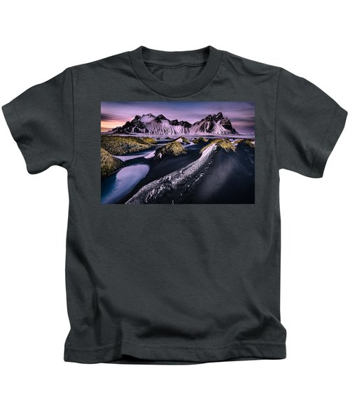 Vestrahorn, South Iceland Kids T-Shirt