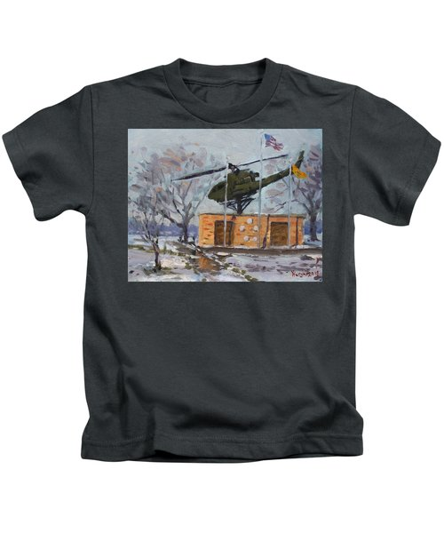 Veterans Memorial Park In Tonawanda Kids T-Shirt