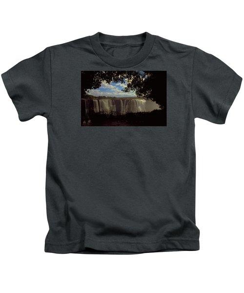 Victoria Falls, Zimbabwe Kids T-Shirt